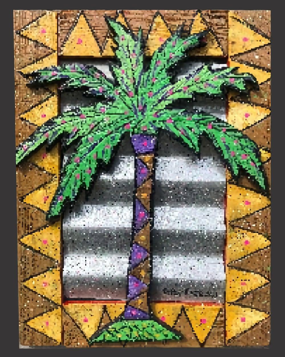 Sculpture Palm Tree